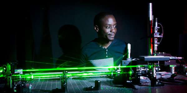 Physicists demonstrate a new device for manipulating and moving tiny objects with light.