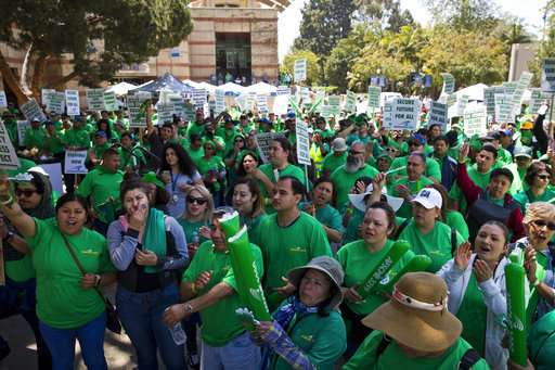 University of California workers start 3-day strike over pay