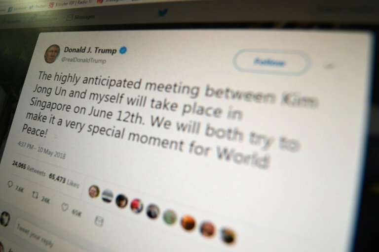 A federal judge ruled that President Donald Trump's move to block Twitter users who disagree with him on the social media platfo