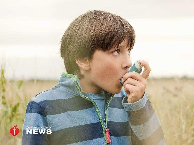 AHA: asthma as kid, stiffer arteries as an adult?