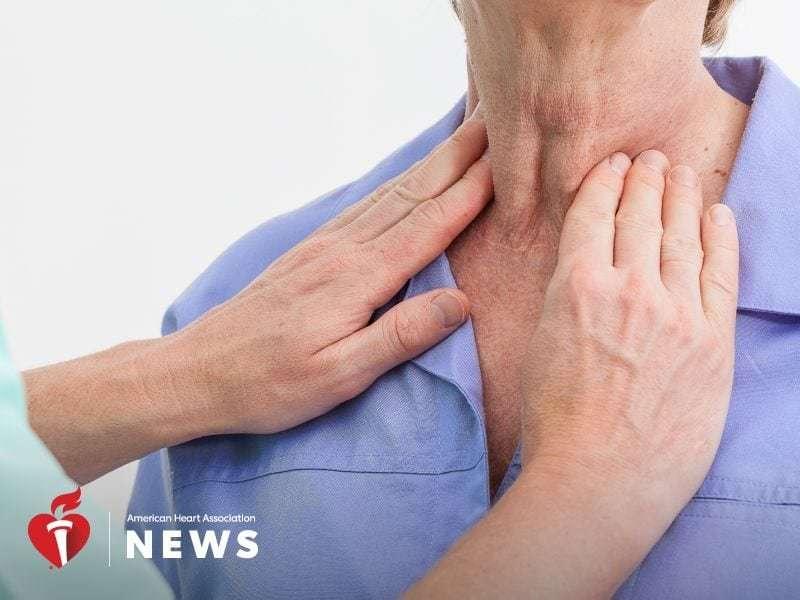 AHA: thyroid problems linked to worsening heart failure