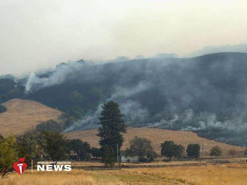 AHA: wildfire smoke threatens health of those near and far