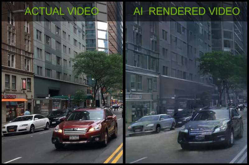 AI made them do it: Nvidia explores the what-if of training a model to draw new worlds