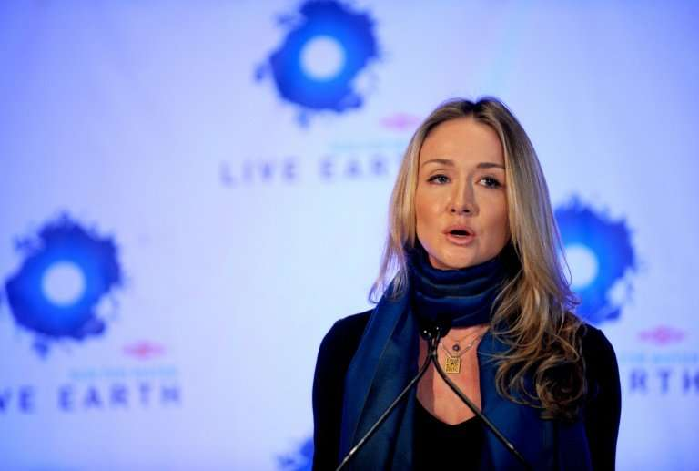Alexandra Cousteau, pictured in 2009, the granddaughter of famed oceans explorer Jacques-Yves Cousteau will provide narration an
