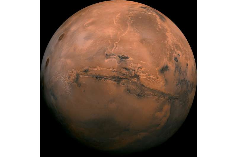 Ancient Mars had right conditions for underground life, new research suggests