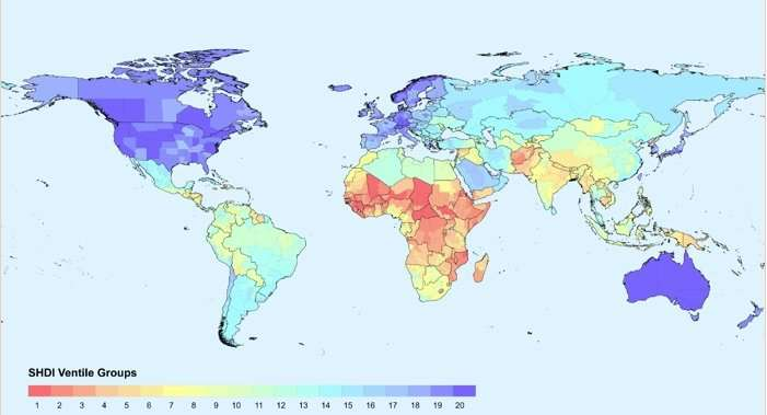 A new indicator of human development at subnational level