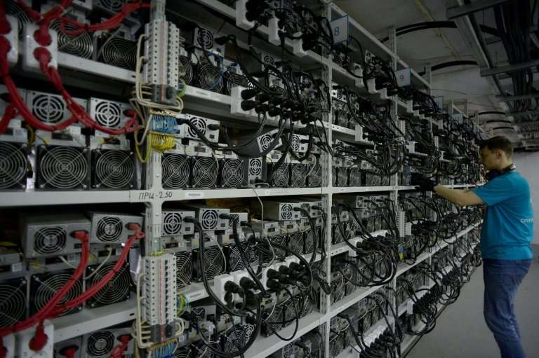 A new report says hackers have used a leaked US government software tool to step up illicit mining of cryptocurrencies like bitc