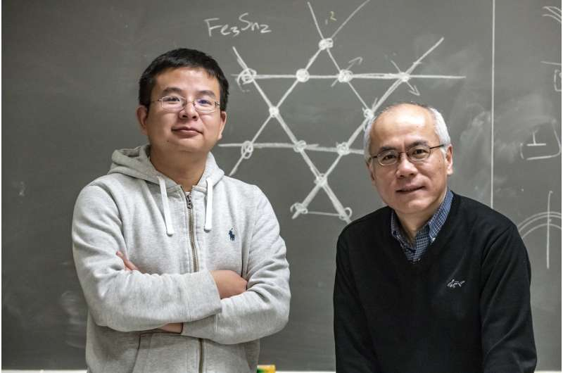 A new 'spin' on kagome lattices