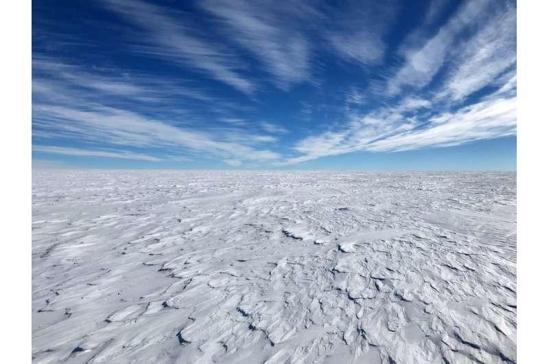 Antarctic melting slows atmospheric warming and speeds sea level rise
