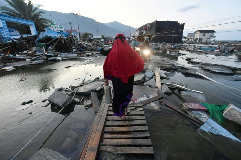 An unlikely confluence of geophysical conditions formed the localised tsunami that washed away multi-story buildings as if they