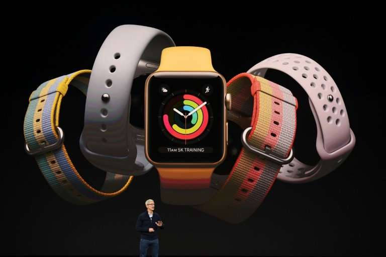 A redesigned Apple Watch may also be released at a media event scheduled at the tech giant's California headquarters