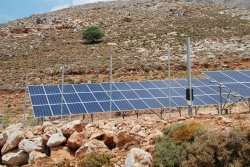 A remote Greek island is on its way to becoming energy self-sufficient