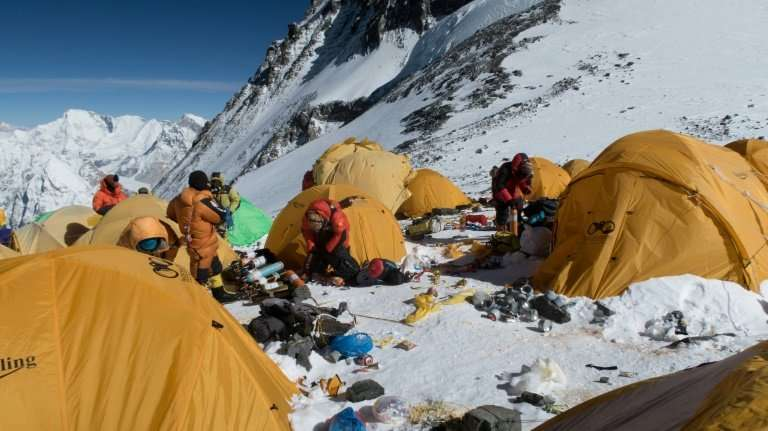 As the number of climbers on Everest has soared—at least 600 people have scaled the world's highest peak so far this year alone—