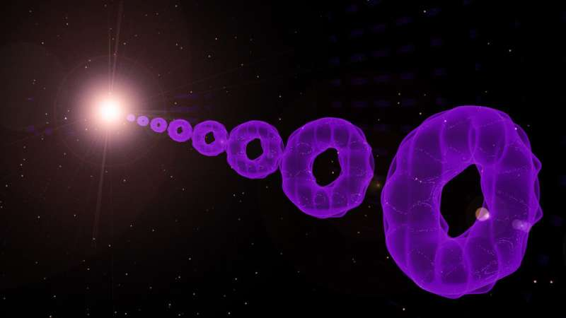 Atoms may hum a tune from grand cosmic symphony