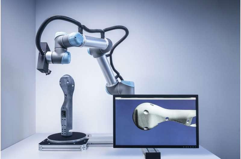 Autonomous 3-D scanner supports individual manufacturing processes