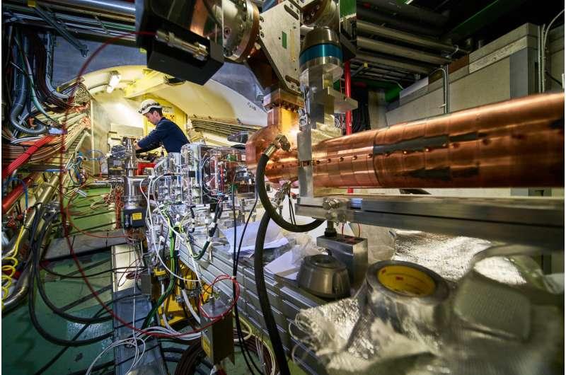 AWAKE successfully accelerates electrons