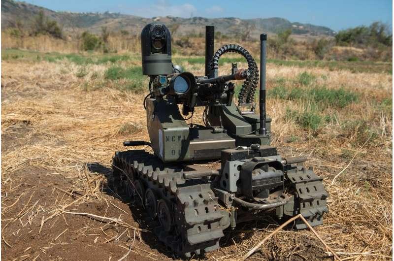 Ban 'killer robots' to protect fundamental moral and legal principles
