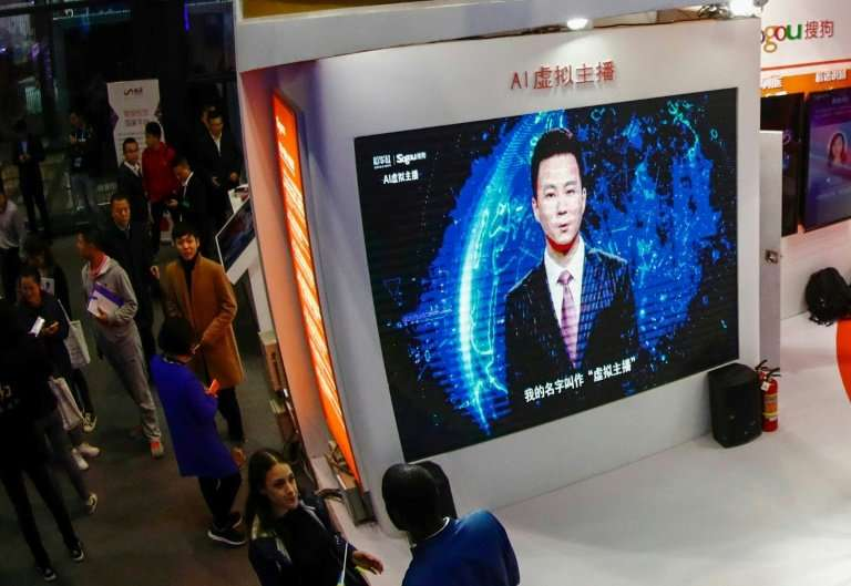 Based on the appearances of two flesh-and-blood Chinese news presenters, the computerised avatars read out text that is fed into