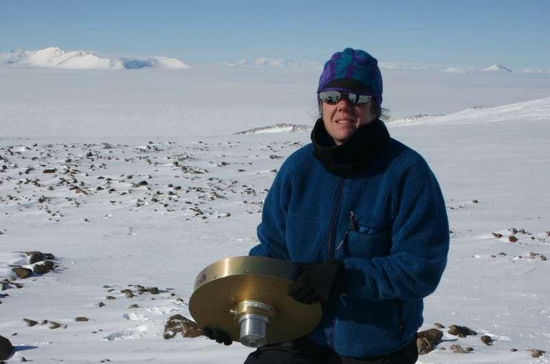 Bedrock in West Antarctica rising at surprisingly rapid rate