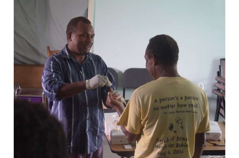 Bedside tests for syphilis and yaws tested in sub-Saharan Africa
