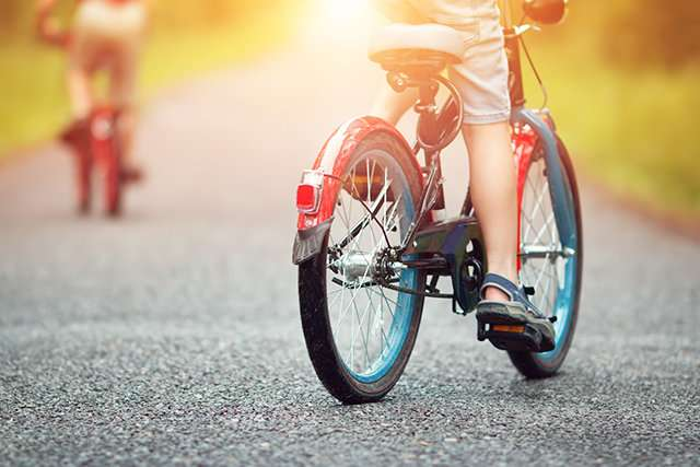 Bike paths for everyone -- except children