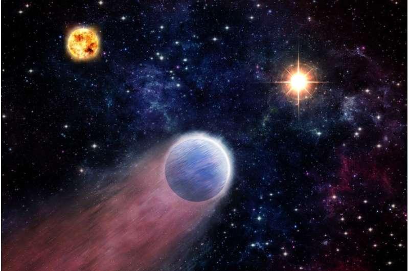 Black hole blasts may transform 'mini-Neptunes' into rocky worlds