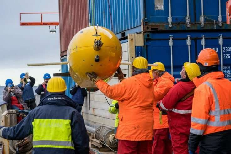 Boaty McBoatface returns from first mission under the ice