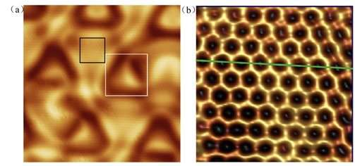 Boron can form a purely honeycomb, graphene-like 2-D structure