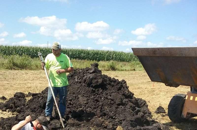 Boxing up ag field nitrogen