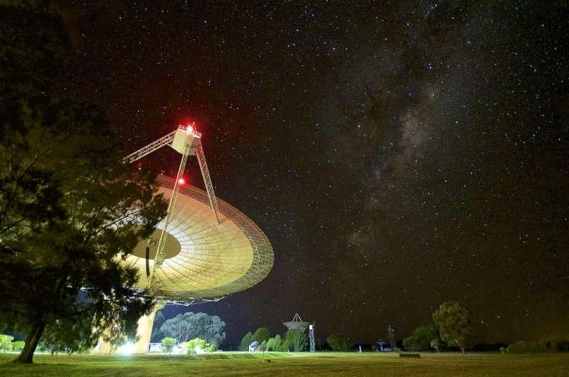 Brightest fast radio burst yet recorded at Parkes in Australia