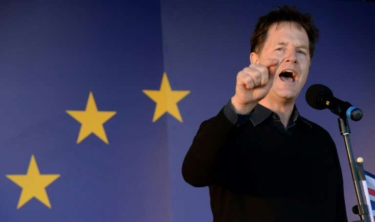 Britain's former deputy prime minister Nick Clegg is set to move to California for his new role as Facebook's head of global aff