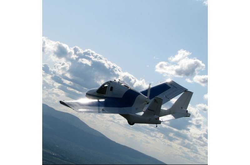Call it car, call it aircraft, but Transition is in the wings