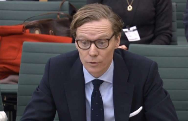 """Cambridge Analytica CEO Alexander Nix has said the firm was """"always acquiring more"""" data"""