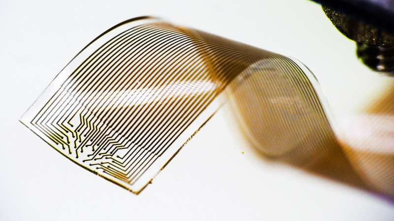 Capturing brain signals with soft electronics