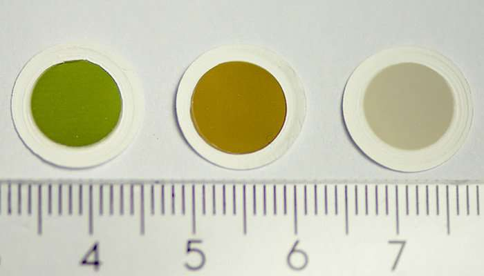 Carbon in colour: First-ever coloured thin films of nanotubes created