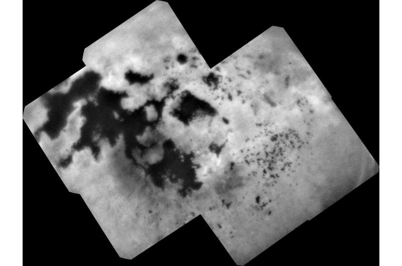 Cassini's Final View of Titan's Northern Lakes and Seas