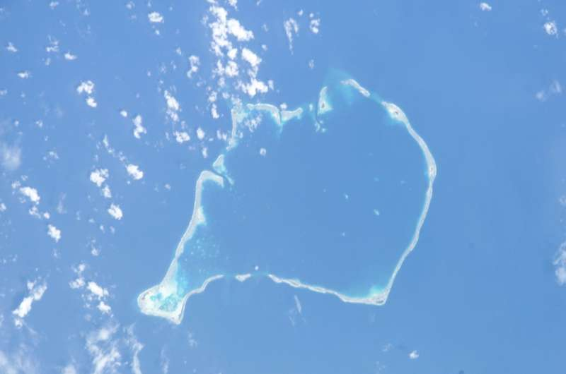 Catastrophic construction: Storms can build reef islands in atoll regions