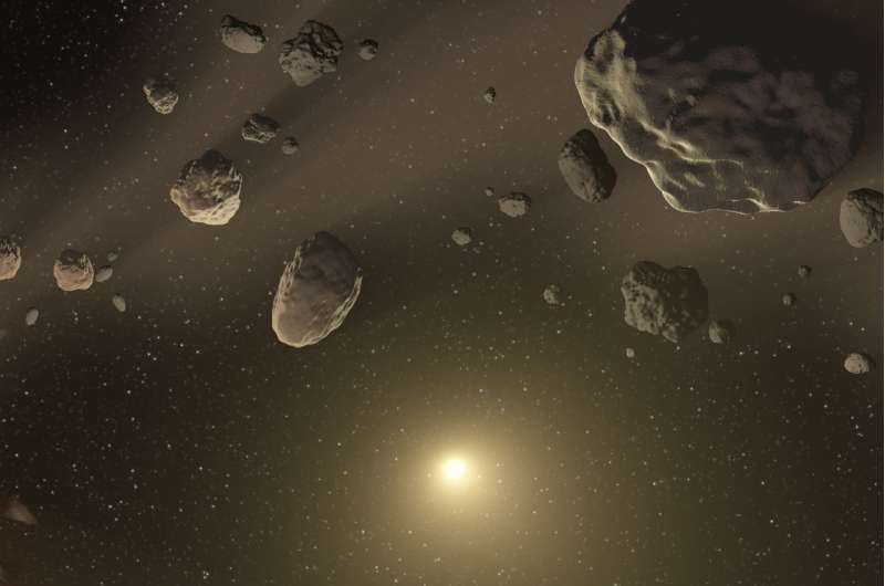 Chemical sleuthing unravels possible path to forming life's building blocks in space