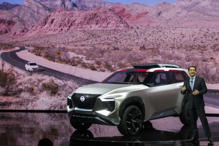 Chief performance officer of Nissan Motor Company and chairman of Nissan North America, Jose Munoz introduces the Nissan Xmotion