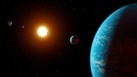 Citizen scientists discover five-planet system