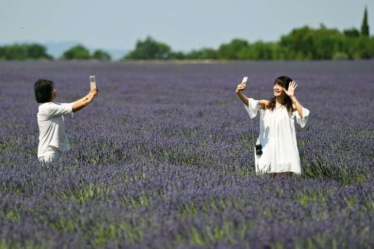 Clean air and blue skies are a new experience for many Chinese visitors