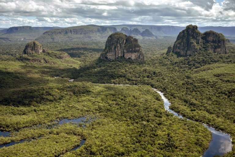 Colombia's Chiribiquete National Park has made UNESCO's World Heritage List