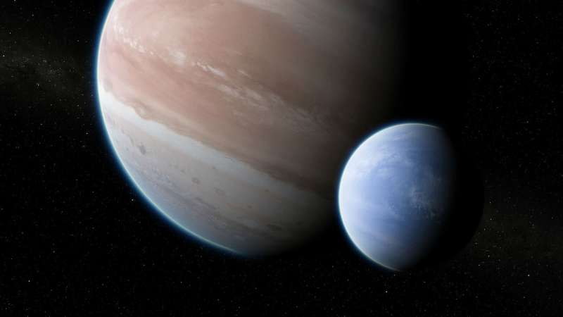 Columbia astronomers find first compelling evidence for a moon outside our solar system