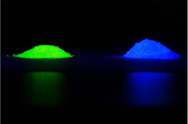 Computers aid discovery of new, inexpensive material to make LEDs with high color quality