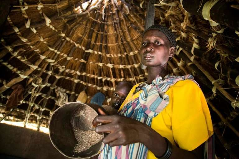 Conflict and drought have had a severe impact on access to food for women and children in South Sudan