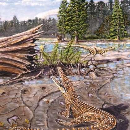 Cretaceous croc had steamy past