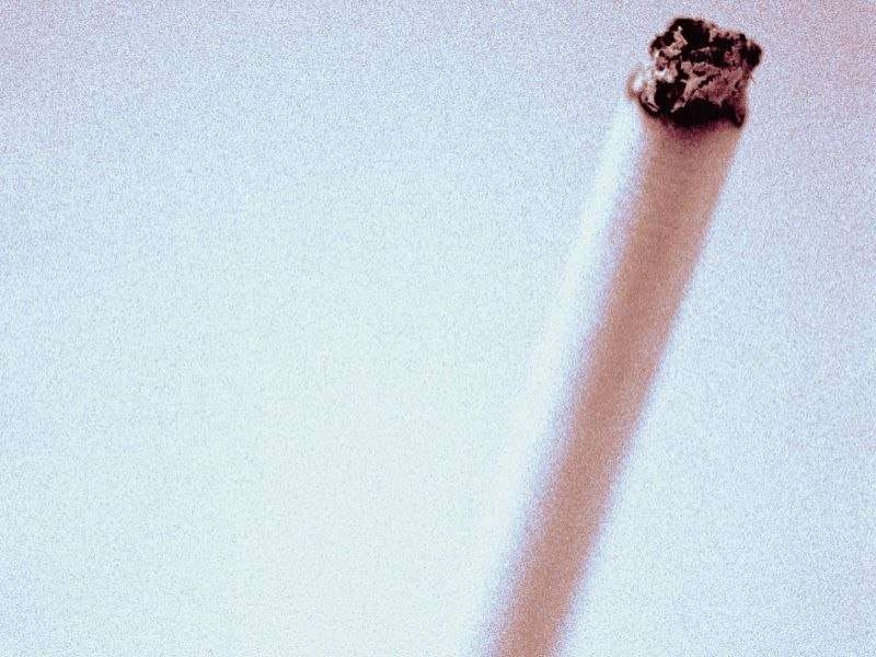 Current tobacco smoke exposure doesn't obstruct peds airflow