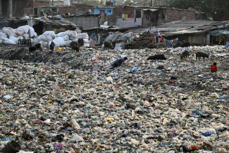 Delhi, home to about 20 million people, generates 9,600 tonnes of plastic waste a day