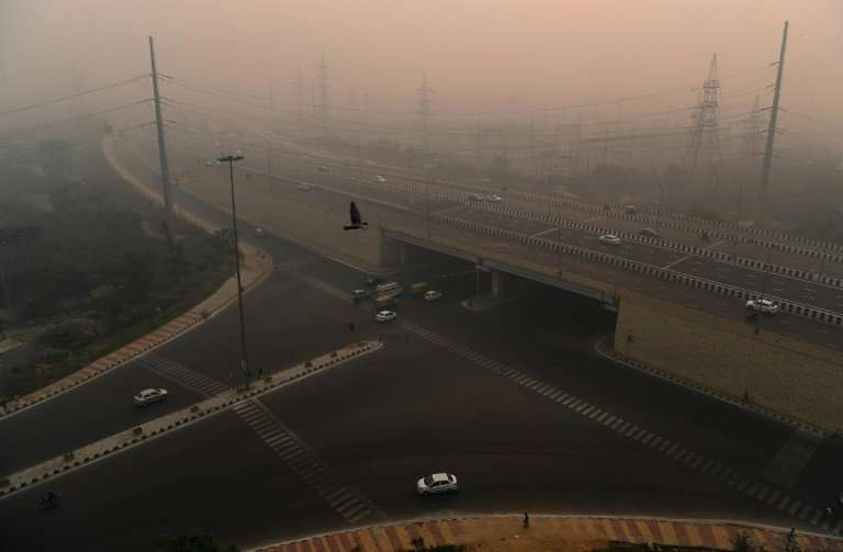 Delhi's homeless suffer constant exposure to a toxic brew of car fumes, factory exhaust and construction dust