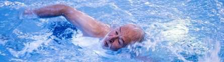 Dementia-friendly swimming sessions help patients and carers, study finds